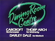 Dining Room Centre AS TVC 1985
