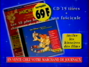 Walt Disney Album Anniversaire RL TVC 1998