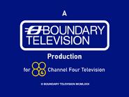 Boundary Channel 4 endcap 1980