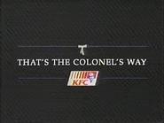 KFC TVC 1994