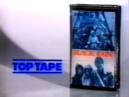Top Tape - movie 1 and Black Rain double feature VHS PS TVC 1990