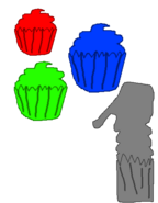 YBC logo cupcakes version 1997