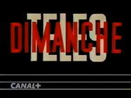Canal Plus bumper - Teles Dimanche - 1992