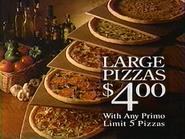 Papa Ginos Primo Pizzas TVC 1994 3
