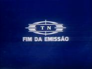 TN1 sign off slide - blue and white pre-1982 TN logo
