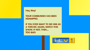 ITV1 ID spoof - Kidnapped Combusken notice - from Harry Hill's TV Burp