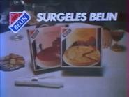 Surgeles Belin RLN TVC 1984