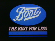Boots AS TVC 1983