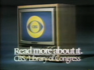 CBS PSA - Read More About It - 1980