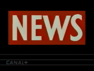 Canal Plus bumper - News - 1992