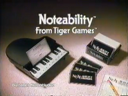 Noteability from Tiger Games URA TVC 1991