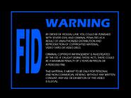 Omega FID screen 1981 - Laser Disc