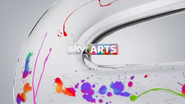 Sky Arts break bumper - Paint Splash - 2015