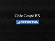 Honda Civic Coupe EX URA Spanish TVC 1998