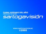 Sartogavision 2005 closer (Hispanic channel of the year)