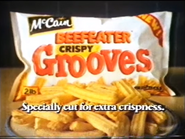 McCain Beefeater Crispy Grooves AS TVC 1985