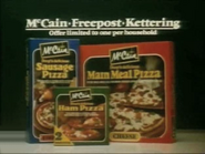McCain Pizzas AS TVC 1982