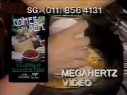 Comer Bem VHS PS TVC 1990