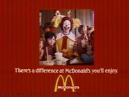 McDonalds AS TVC 1981