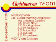 TV-AM Lineup (December 14, 1981)