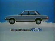 Ford Cortina AS TVC 1981