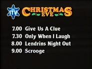 ITV promo Christmas Eve 1981