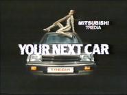 Mitsubishi Tredia GH TVC 1985
