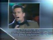 RQ promo Le Telethon de la Dystrophie Musculaire 1989