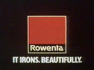 Rowenta Irons AS TVC 1986
