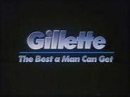 Gillette English TVC 1990