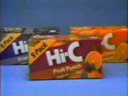 Hi-C TVC - September 7, 1986 - 1