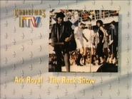 ITV slide - Ark Royal The Rock Show Christmas 1986