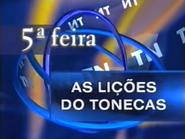 TN1 promo - As Liçoes do Tonecas - 1997