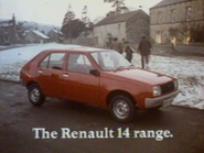 Renault 14 AS TVC 1979