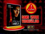 From Hell VHS RL TVC 2002