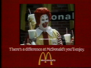 McDonalds AS TVC 1981 2