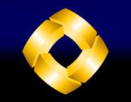 Telecord gold square 2