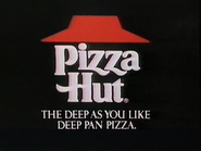 Pizza Hut AS TVC 1985