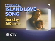 CTV promo - Island Love Song - 1987