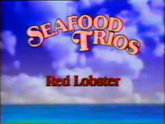 Red Lobster Seafood Trios TVC - September 7, 1986 - 1