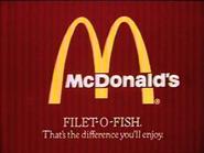 McDonalds AS TVC 1982 - Filet-O-Fish