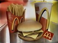 McDonalds Double Cheeseburger PS TVC 1997 2