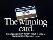 Barclaycard AS TVC 1983