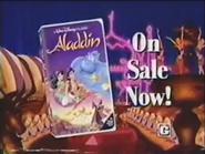 Walt Disney Classics - Aladdin VHS URA TVC 1993 - 1