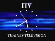 Thaines clock 1990