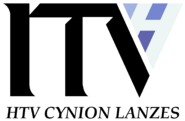 HTV Lanzes ITV print logo 1989