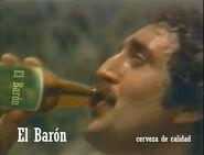 Cerveza baron 1980