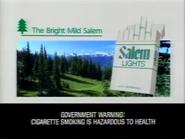 Salem Lights GH TVC 1990