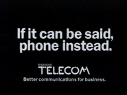 Anglosovic Telecom TVC 1982