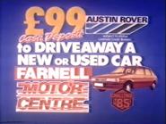 Austin Rover AS TVC 1985